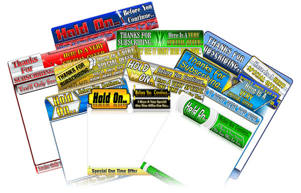 Product picture 10 OTO Templates for the Irresitable One Time Offers! (MRR)