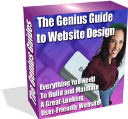 Product picture The Genius Guides To Website Design